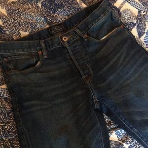 EUC Lucky Brand skinny jeans 30W 32L
